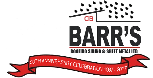 BARR'S Roofing, Siding & Sheet Metal Ltd.